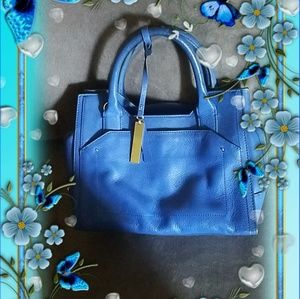 VC Royal Blue Leather Bag